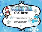 Winter CVC Bingo