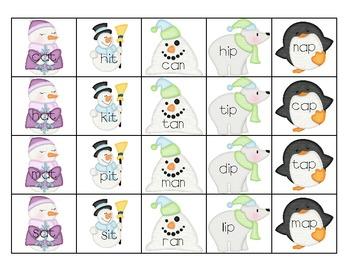 Winter CVC Card Game
