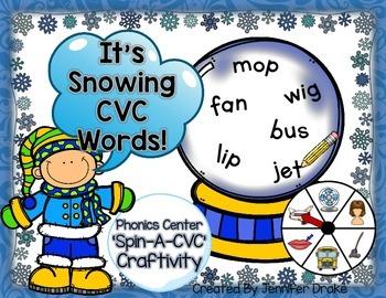 Winter CVC Craftivity