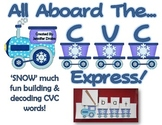 Winter CVC Express!  Build & Decode CVC Words on a Fun Winter Train!