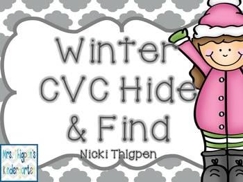 Winter CVC Hide & Find