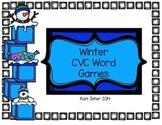 Winter CVC Word Game