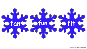 CVC Word Family Work Game {Fun Winter Product}