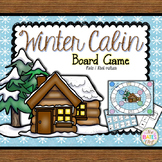 Winter Cabin Music Board Game (Note/Rest Values)