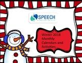 Winter Calendar Activities