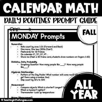 Calendar Math Free (Winter)