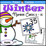 Winter Preschool and PreK Maths Activity