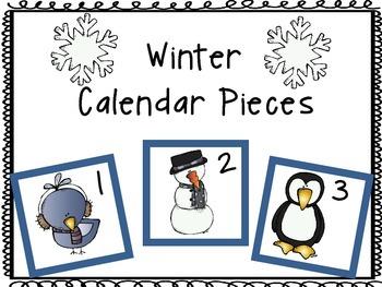 Calendar Pieces: Winter