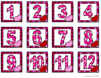 Winter Calendar Set