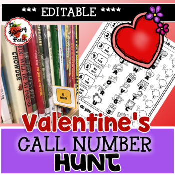 Valentine's Day Call Number Hunt