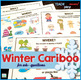 Winter Cariboo for WH- questions {plus 14 fun QR code vide