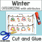 Winter Theme Activities for Speech Therapy | Categories & Attributes
