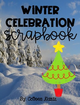 Winter Celebration Scrapbook