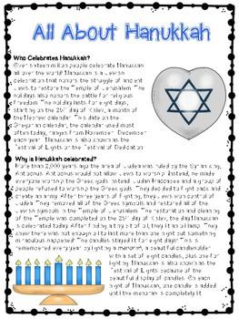 Winter Celebrations (Christmas, Kwanza, and Hanukkah)