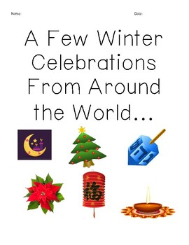 Winter Celebrations Packet