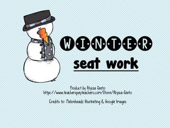 Winter Center Activities
