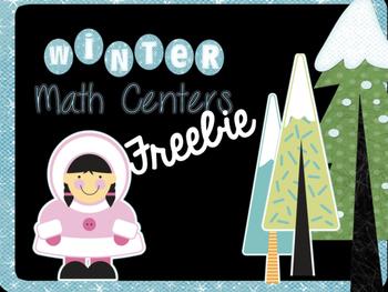 Winter Center Freebie