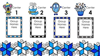Winter Center Rotation Automatic PowerPoint