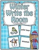 Free Winter Center ~ Write The Room