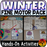 Winter Centers Activities Fine Motor Centers OT Literacy M