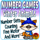 Winter Centers Animals Number Games Math Centers Winter Activities Counting