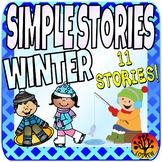 Winter Centers Activities Beginner Reading Passages Simple