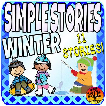 Winter Centers Activities Beginner Reading Passages Storie