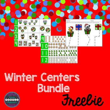 Winter Centers Bundle Freebie