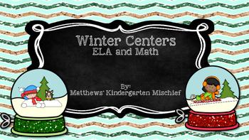 Winter Centers ELA & Math