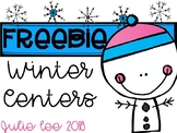 Winter Centers Freebie