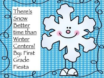 Winter Centers Math, Poetry, Nonsense words, and Language Arts