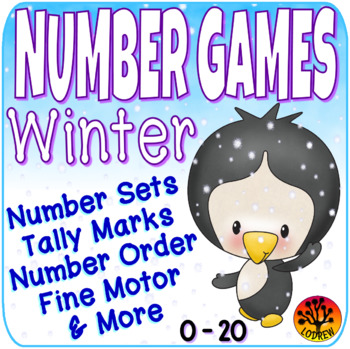 Winter Centers Number Games Math Centers Winter Activities Counting Snow