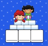 Winter Centers Workstations Pre-K Kindergarten