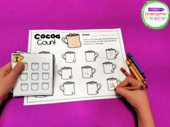 Winter Centers and Activities for Pre-K/Kindergarten