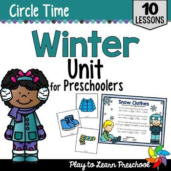 Winter Circle Time Unit