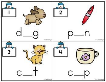 Winter Centers for Kindergarten