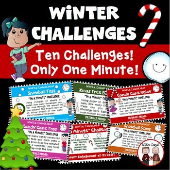 Christmas Winter Challenge Engagement Activities