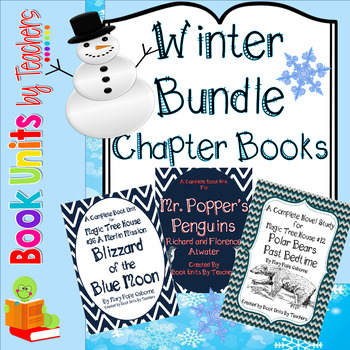 Winter Chapter Book Bundle