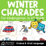 Winter Charades, Drama and Oral Language Activity