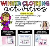Winter Checklists & Sequencing activities