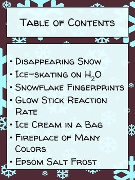 Winter Chemistry: 7 Science Demonstrations on Snowflakes, Ice Skating, and More!