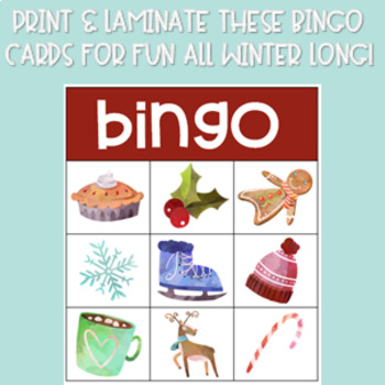 Winter/Christmas Bingo