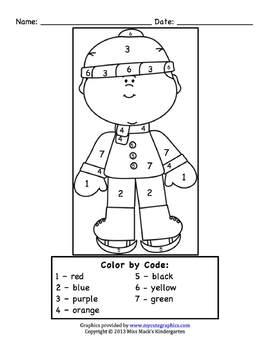 winter christmas break homework packet by miss mack 39 s kindergarten. Black Bedroom Furniture Sets. Home Design Ideas