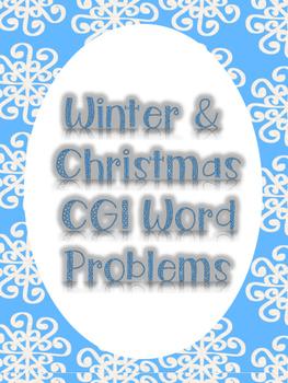 Winter/Christmas CGI Word Problems