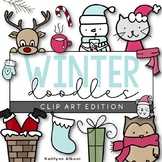 Winter - Christmas Doodles | Clip Art [IN COLOR!]