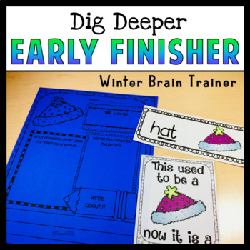 Winter Christmas Early Finisher Word of the Day Bundle