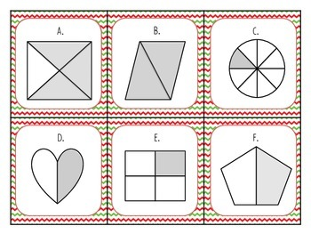 Winter Christmas Fractions
