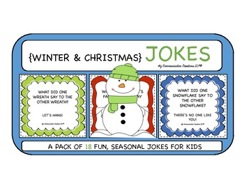 Winter & Christmas Jokes {Pack of 18}