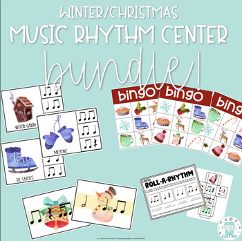 Winter/Christmas MUSIC RHYTHM CENTER BUNDLE