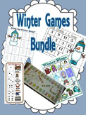 Winter Christmas Party Games Bundle